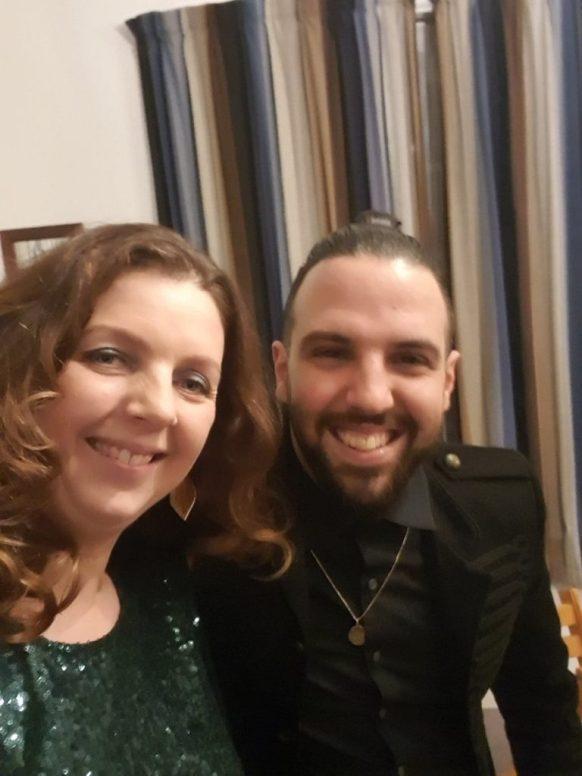 Lisette en DJ Bombastic bij Liora's Maestro