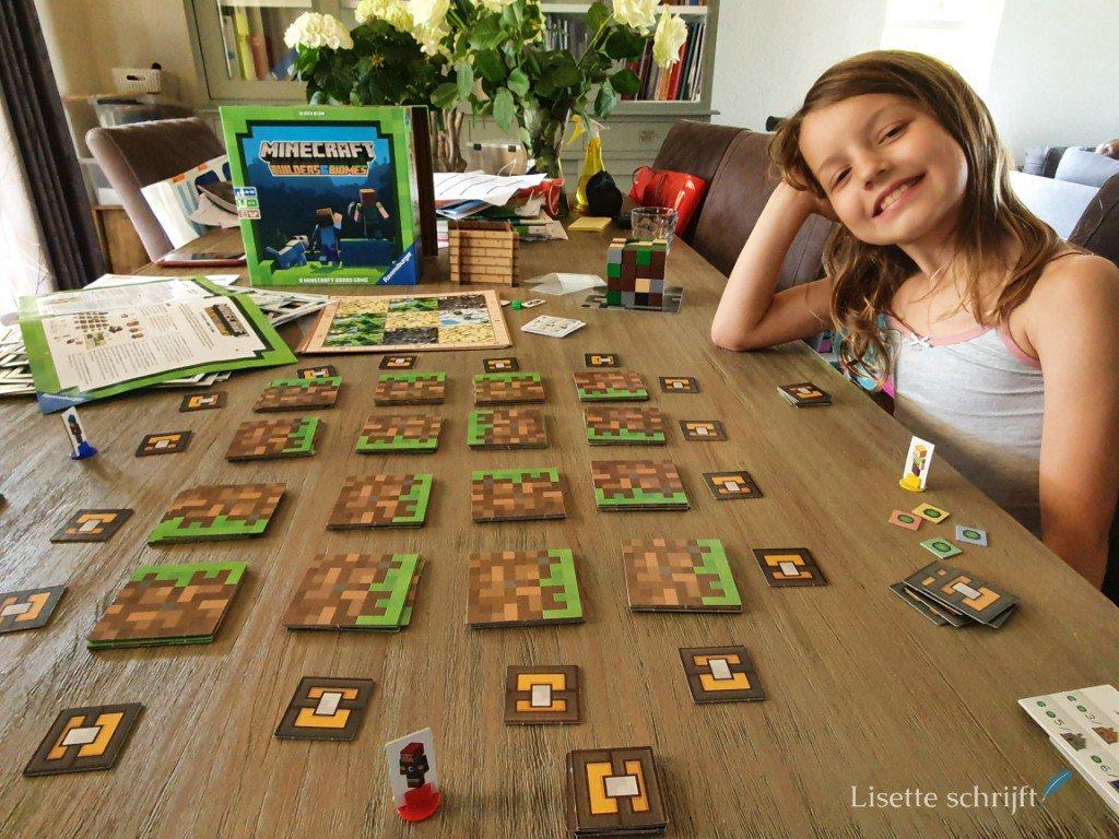 Het minecraft bordspel review