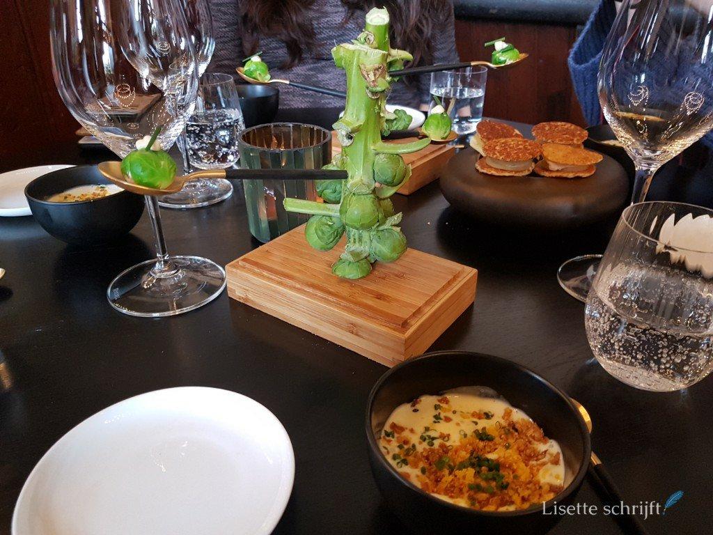 Restaurant Bentinck nabij Kasteel Amerongen amuse
