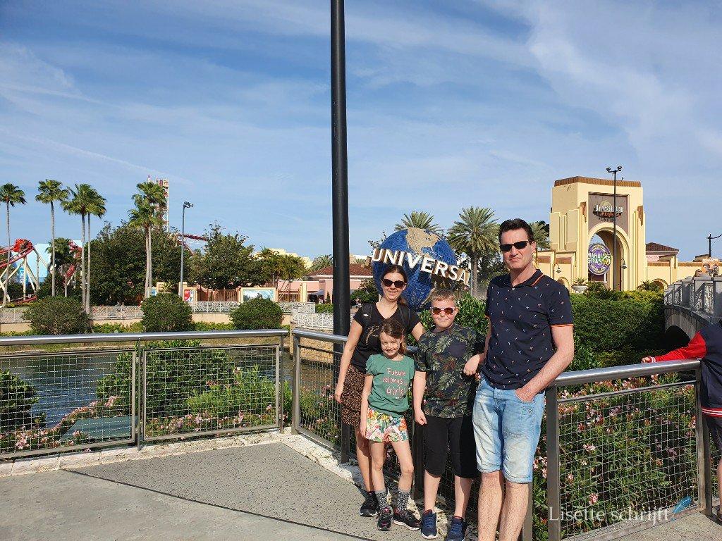 Bezoek aan Universal Studios Orlando