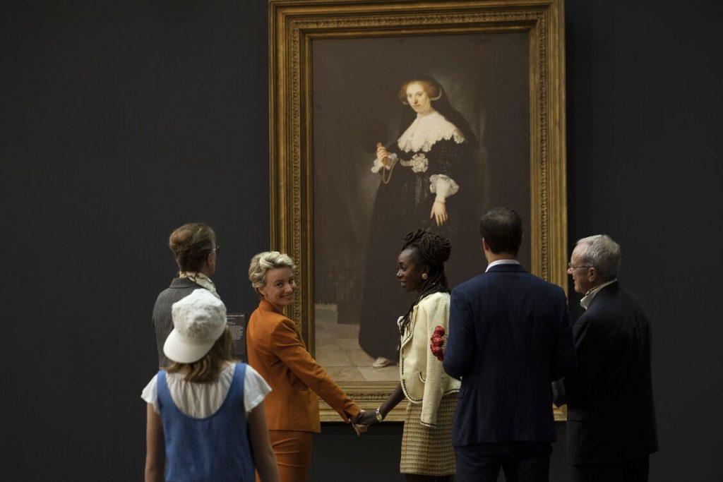 Jackie en Oopjen in het rijksmuseum film rembrandt