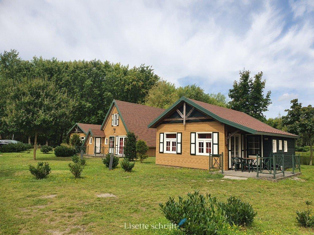 huisjes bij park molenheide in belgie