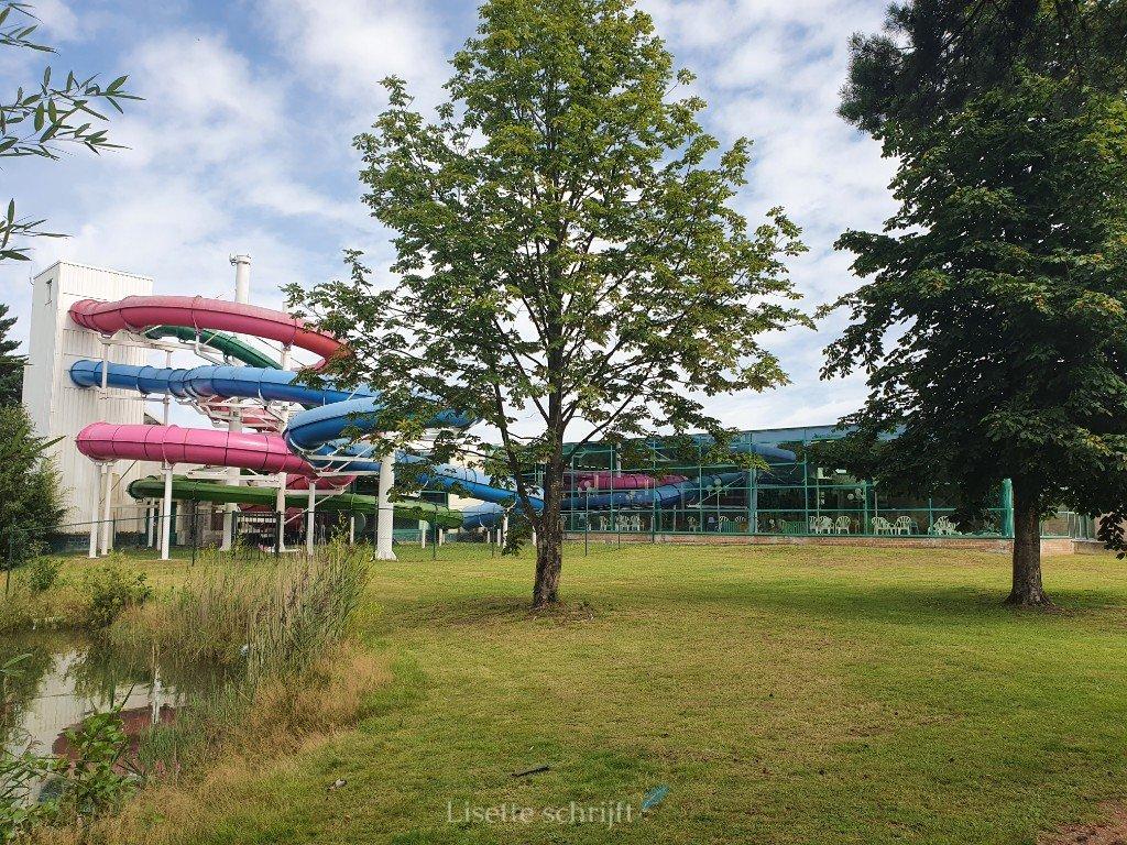 zwembad bij Park Molenheide in Belgie