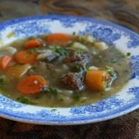 Et varmt barndomsminne - Kjøtt i kjøttsuppe