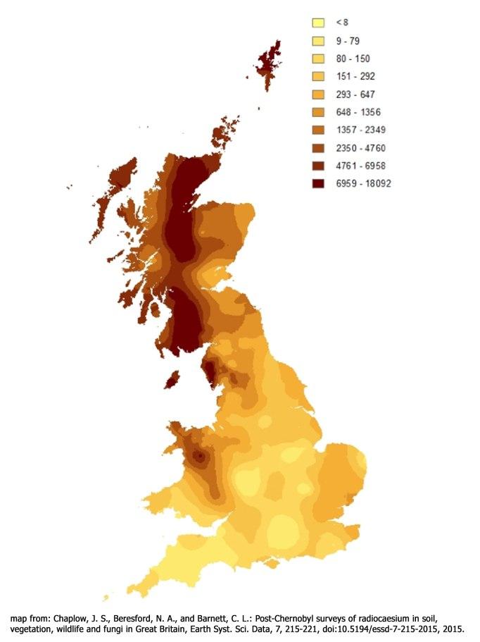 Radioactive Fallout Maps 20 Millisieverts Per Year