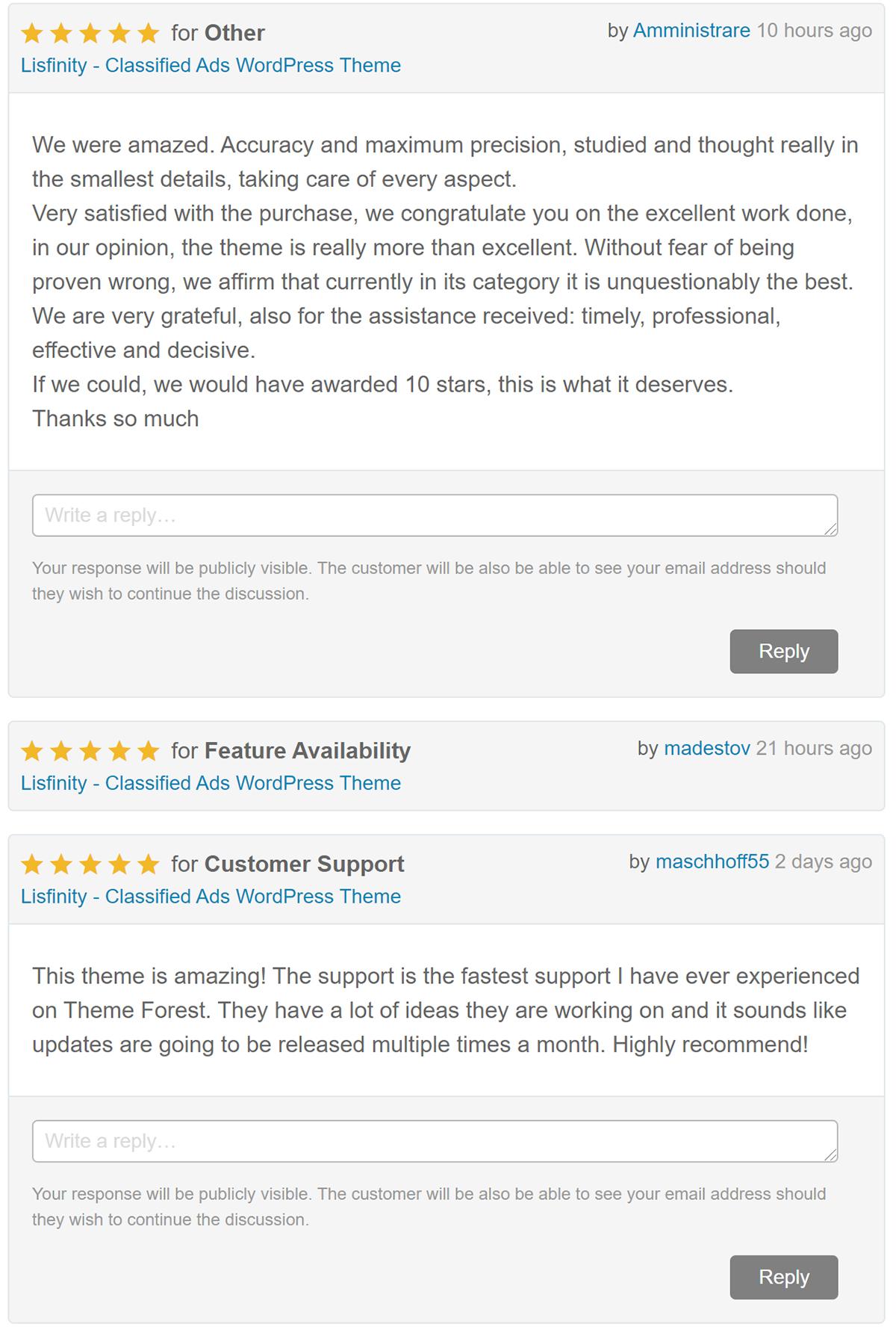 Lisfinity - Classified Ads WordPress Theme - 2