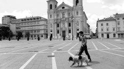 The Square in Gorizia Italy