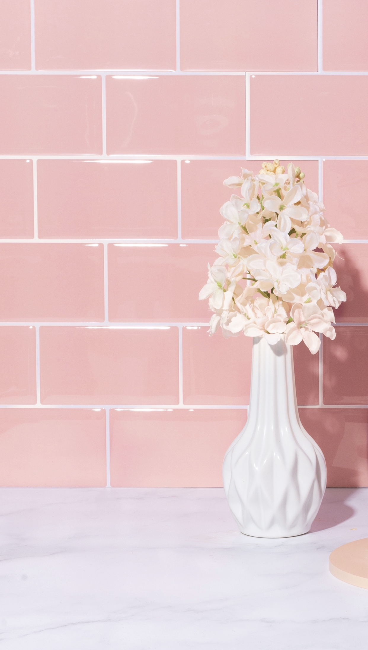 faux tile backdrop for your photos