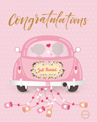 Congratulations on your Wedding Gift Card