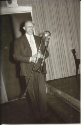 Marcel Fuchs uoči diplomskog ispita na bečkoj Muzičkoj akademiji 1961. godine