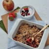 Quinoa crumble met fruit