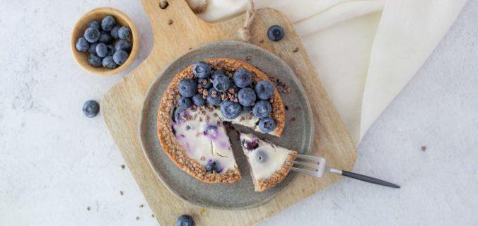 Cheesecake ontbijttaartje