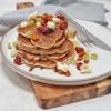 hartige brie pancakes