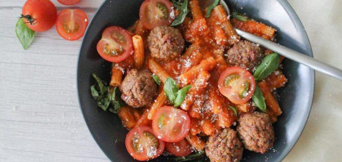 Italiaanse pastasaus met groente