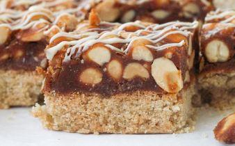 Shortbread peanut caramel repen