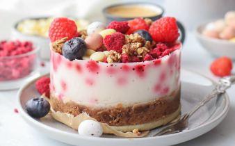 Yoghurt ontbijttaartje