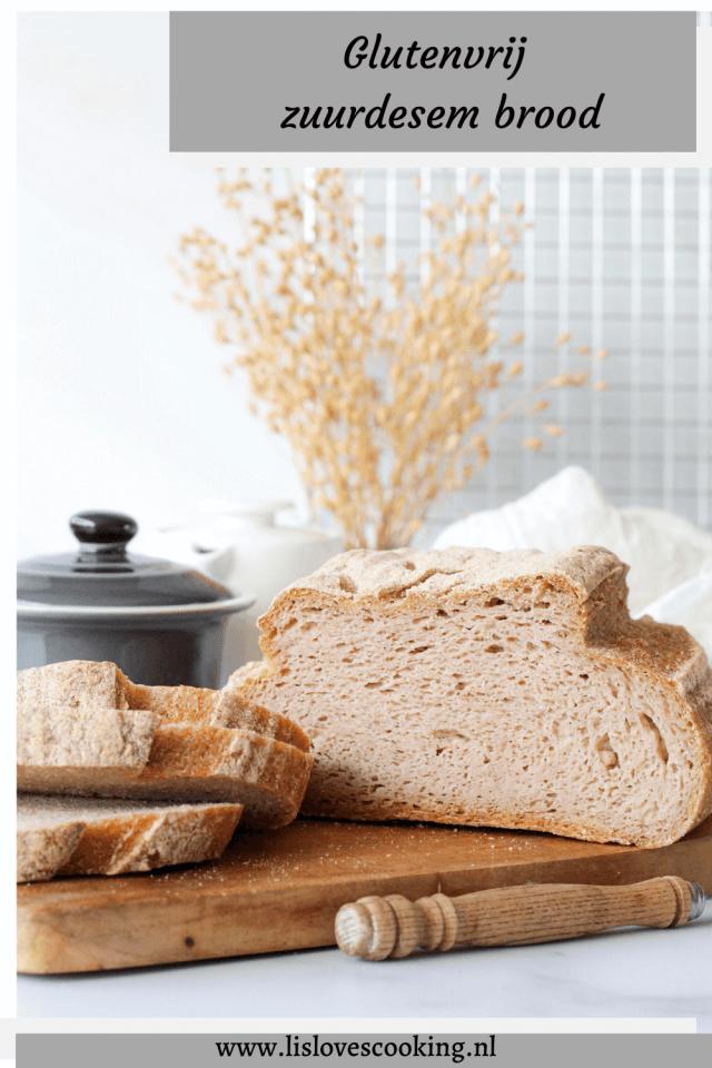 Glutenvrij zuurdesem brood