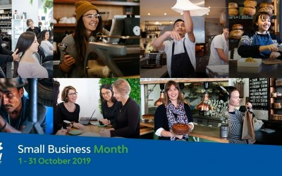 October = Small Business Help (all month long)!