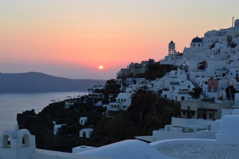 Santorini: l'isola del tramonto