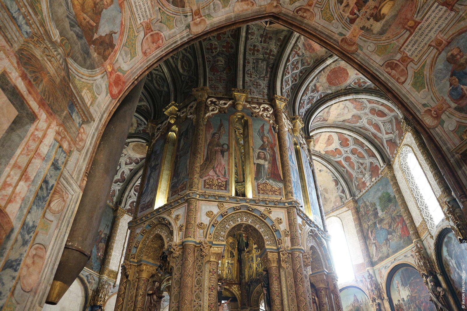 Круговая галерея церкви Конвента Христа