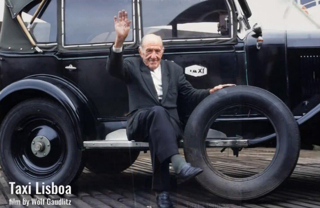 Аугушту Маседу, кадр из фильма Taxi Lisboa