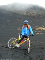 MTB på Mt Etna.