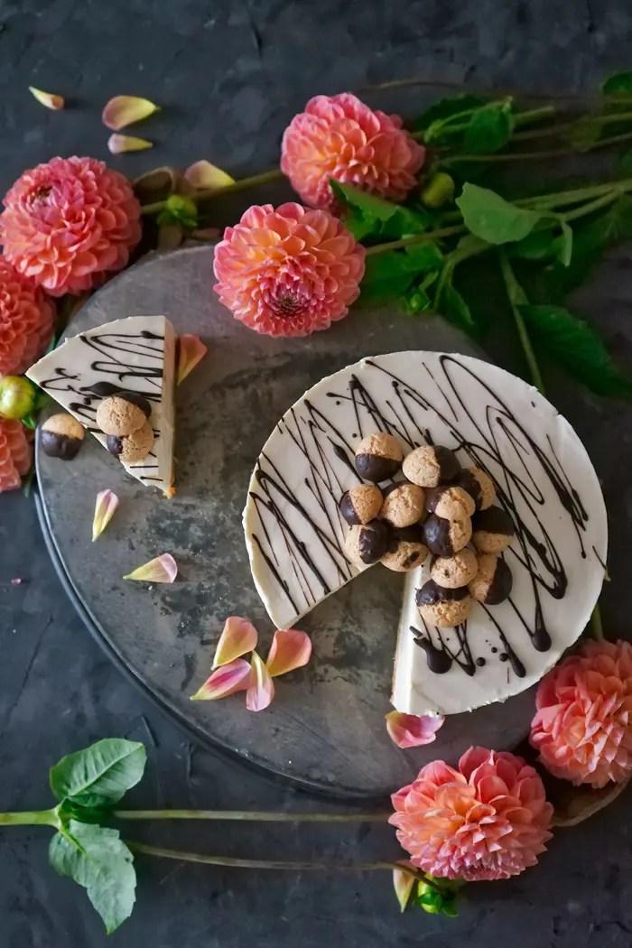 Amaretto-Cheesecake - no bake