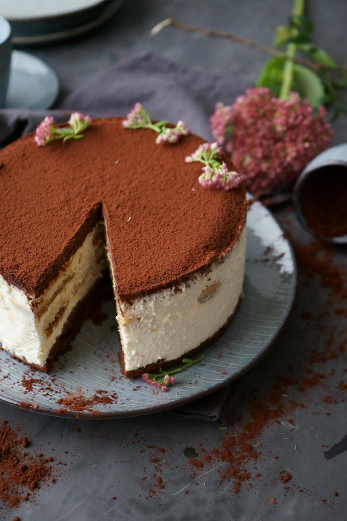 Einfache Tiramisu Torte