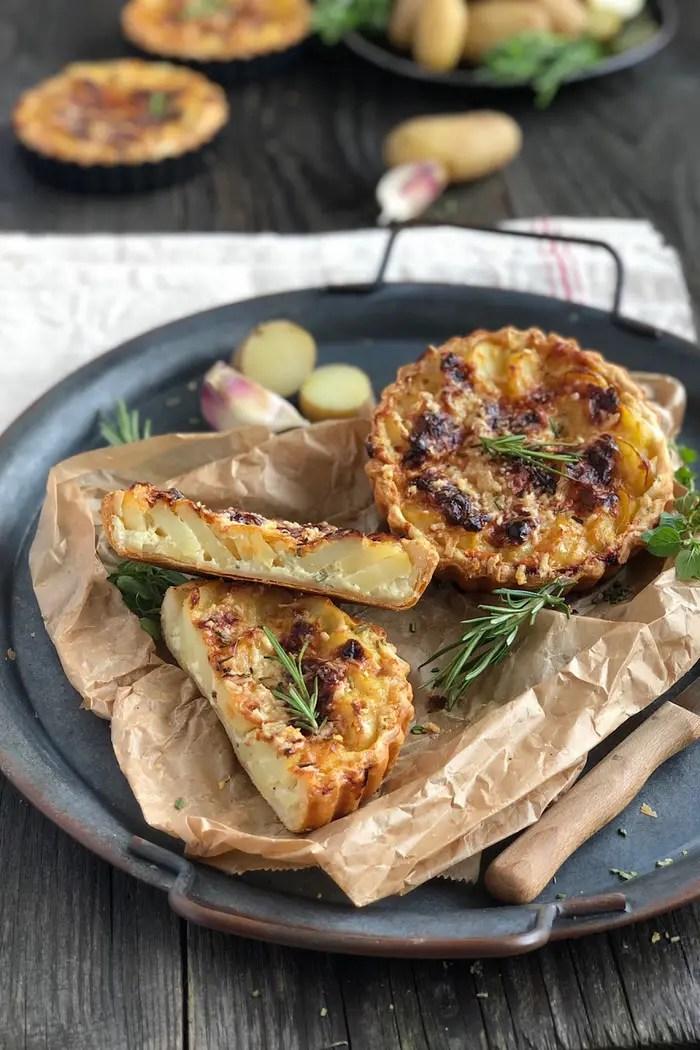 Pizza di patate – italienische Kartoffelpizza