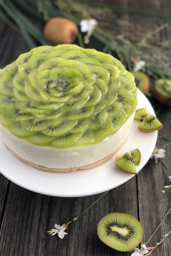 Kiwi Joghurt Sahne Torte