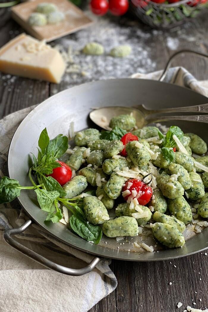 Spinat Parmesan Gnocchi – unglaublich lecker!