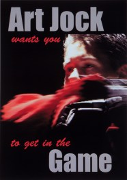 Art Jock postcard (2000)