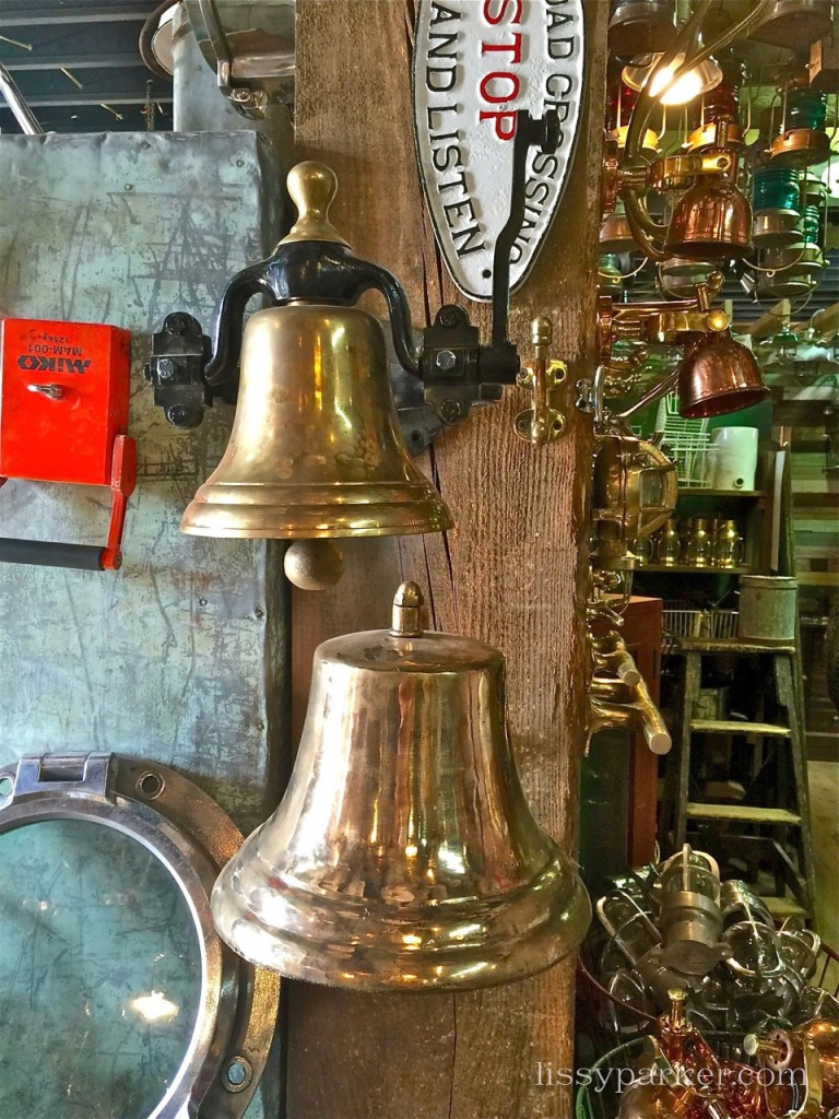 Bells to ring to call your family inside ... or the Gong as it is called on Downton Abbey