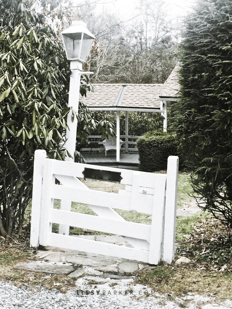 Such a charming little gate