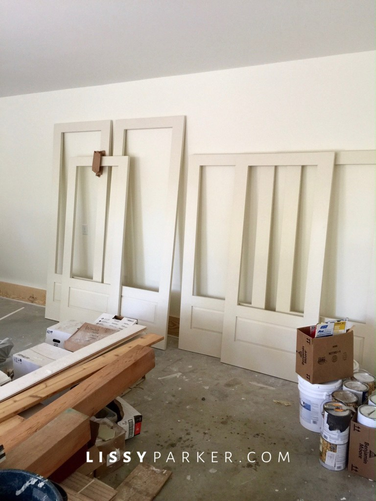 Screened porch doors