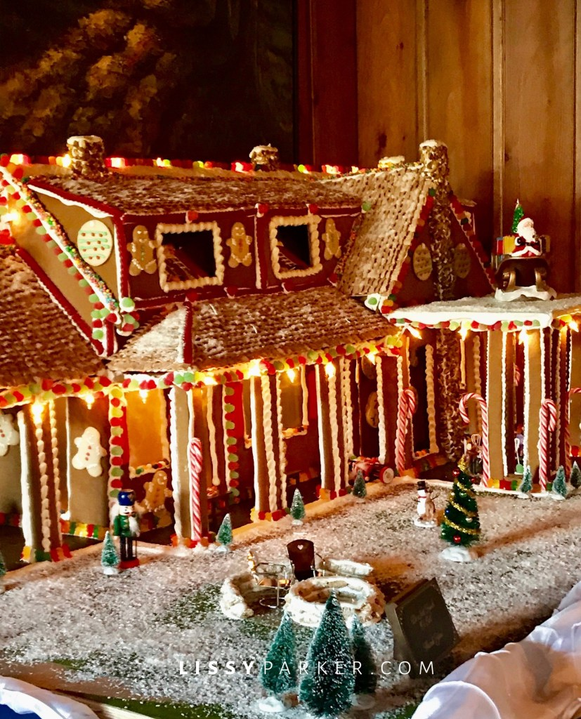 gingerbread house and mansion