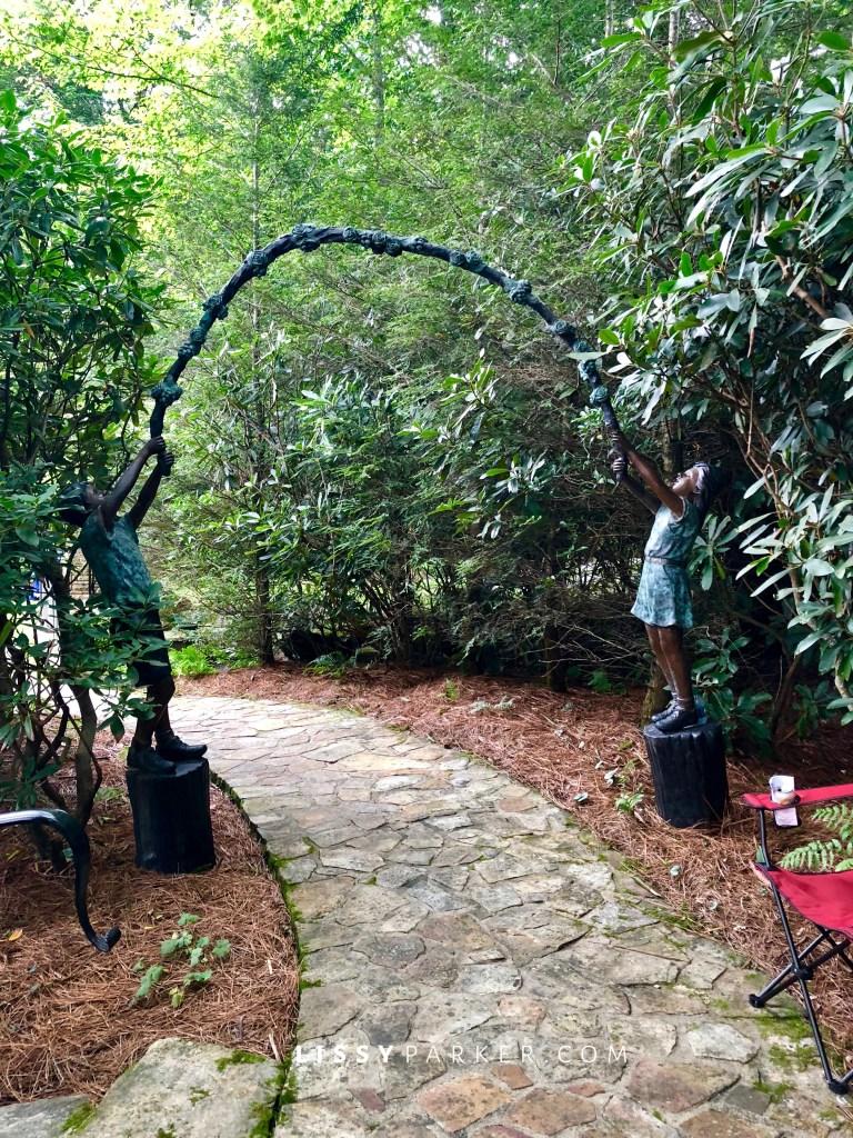 children's garden arch