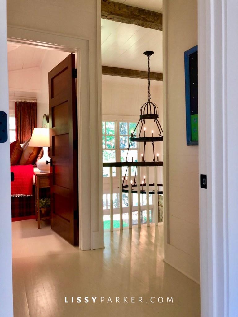 white floors