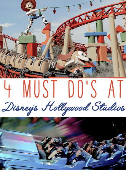 4 Must Do's at Disney's Hollywood Studios