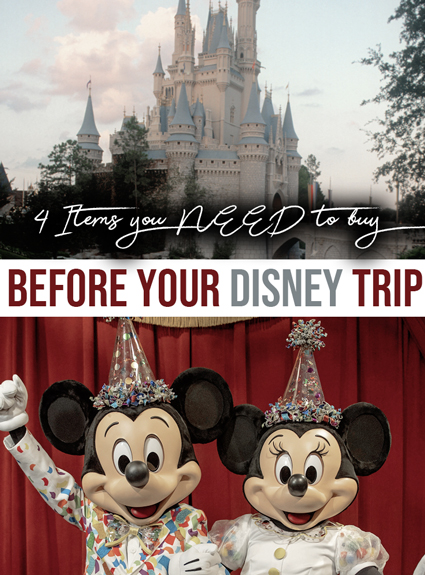4 Things You Might Not Think You Need For Disney (But Definitely Do)