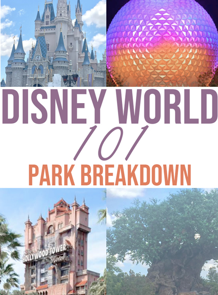 Disney World 101 Series – Park Breakdown