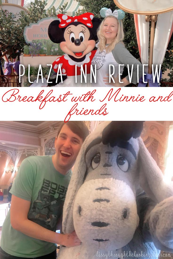 Plaza Inn Disneyland Character Dining