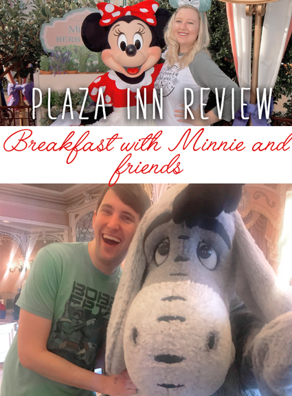 Plaza Inn Disneyland Character Dining – Review of Breakfast with Minnie and Friends!