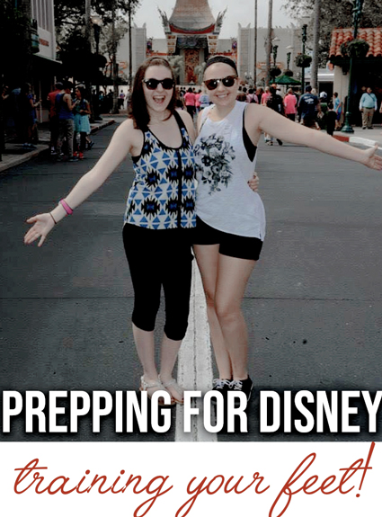 Training for Disney World Walking – Getting Your Feet in Tip Top Shape!