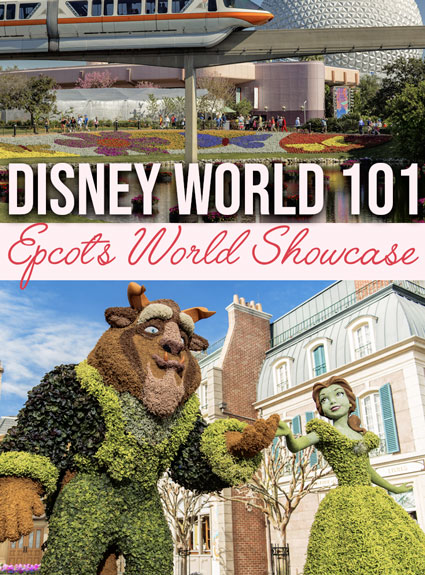 Disney World 101 – EPCOT Center – World Showcase