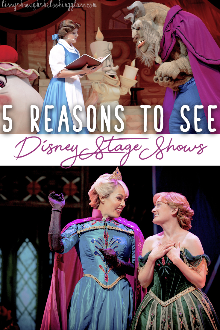 disney stage shows