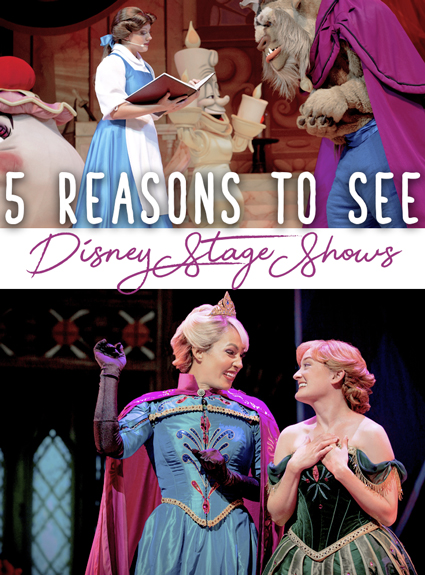 5 Reasons You Should Slow Down and See Shows at Walt Disney World