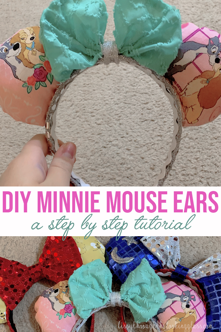 Diy Minnie Mouse Ears Lissy Through The Looking Glass