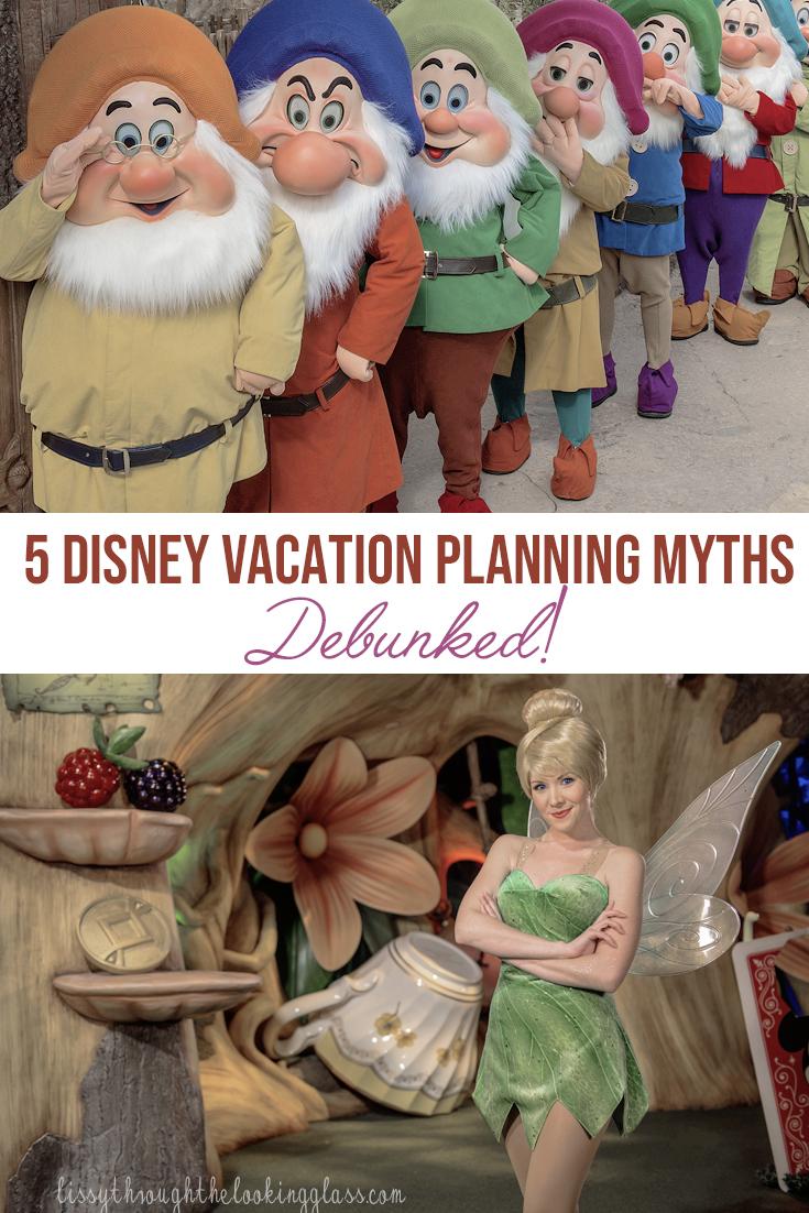 Disney Vacation Planning Myths
