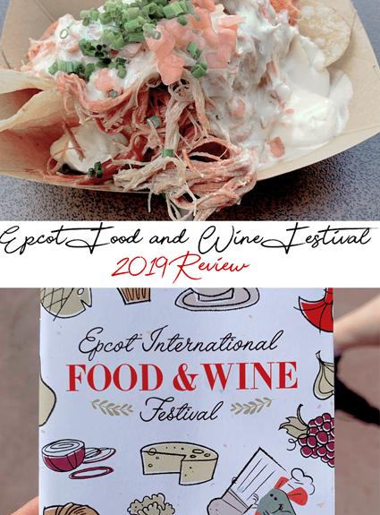EPCOT Food and Wine Festival Review 2019